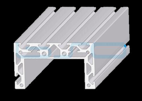 U-Profil 46x80 Alu