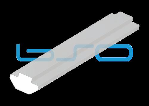 Nutensteinprofil schwer Nut 8 Profilstab Aluminium mit Zentrierung