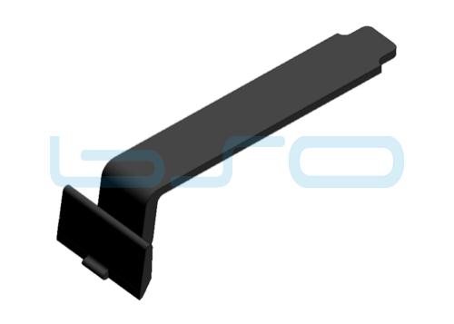 Abdeckkappe für CEV-Verbinder PA schwarz