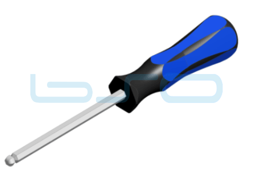 Sechskant-Schraubendreher SW 3mm L=150mm