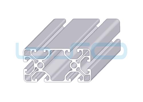 Alu-Profil Nut 8 40x80 leicht ECO