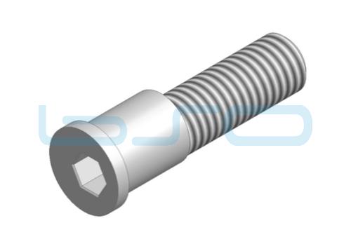 Befestigungsbolzen Stahl exzentrisch