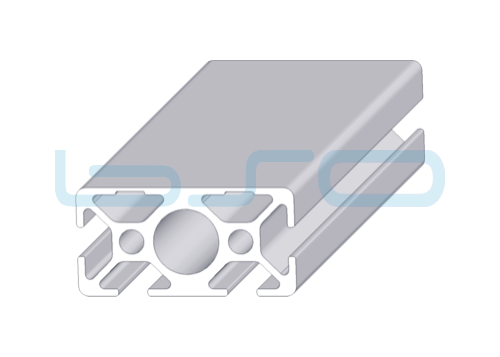 Alu-Profil Nut 8 30x60-2N