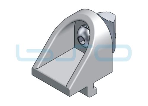 Klemmwinkel-Set Nut 5 19x16x16