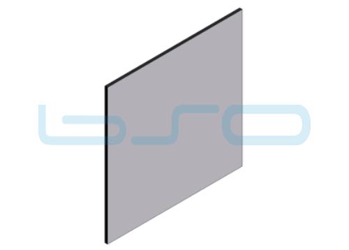 Alu-Verbundplatte beidseitig lackiert 3mm verschiedene Farben