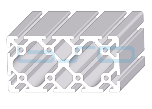 Alu-Profil Nut 8 80x160 schwer