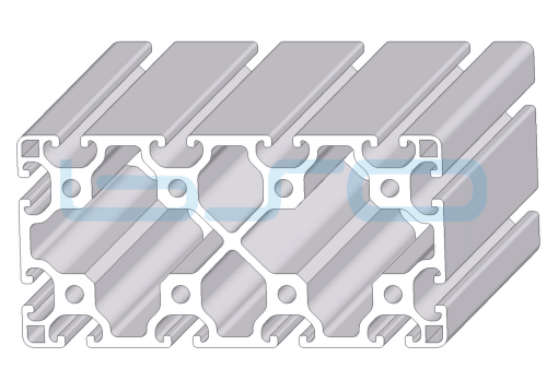 Alu-Profil Nut 8 80x160 leicht