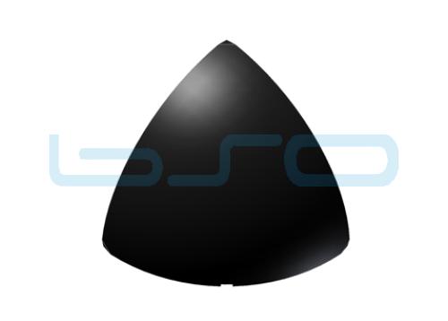 Abdeckkappe-Rund Eckwinkel Nut 5 20x20 3x90 Grad