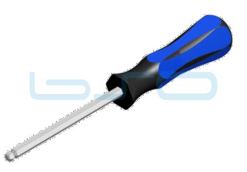 Sechskant-Schraubendreher SW 6mm L=215mm