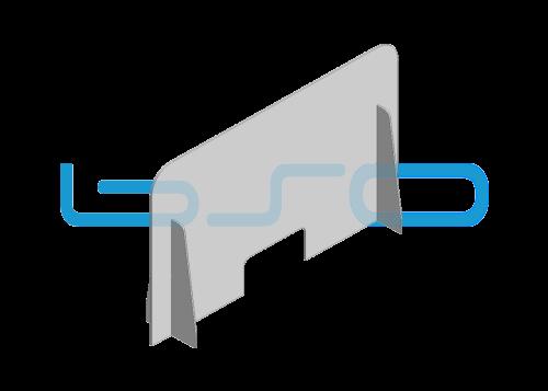 Corona Schutz Tischfeld
