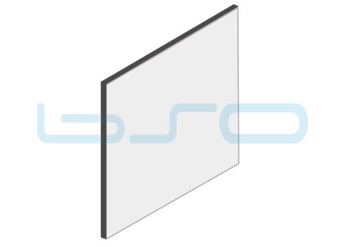 Vollkunststoffplatten grau Melaminharz beschichtet 8mm