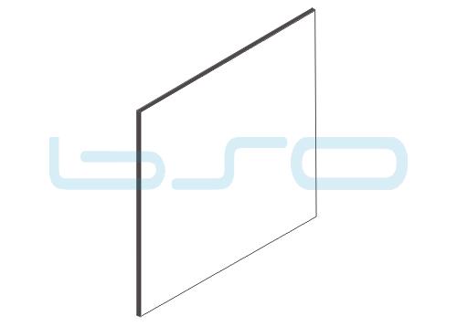 Vollkunststoffplatte weiß beidseitig Melaminharz beschichtet 4mm