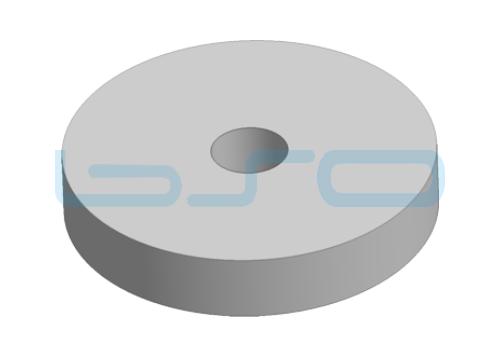 Schwingungsdämpfer Höhe 12mm für Fuß 80mm