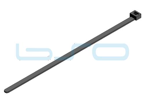 Kabelbinder PA 4,8x300mm schwarz