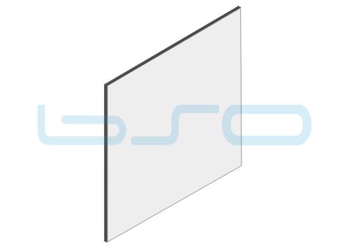 Vollkunststoffplatten grau Melaminharz beschichtet 6mm