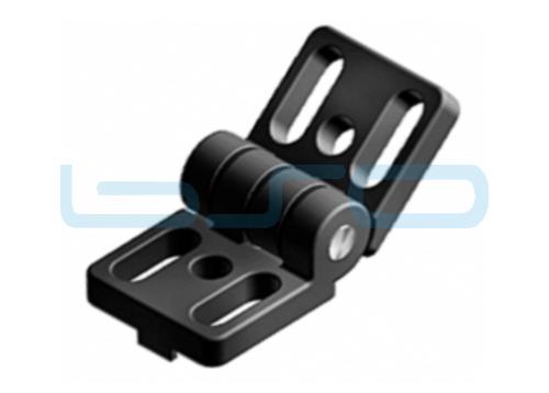 Scharnier Nut 8 30x60 Druckguß-Zn schwarz beschichtet