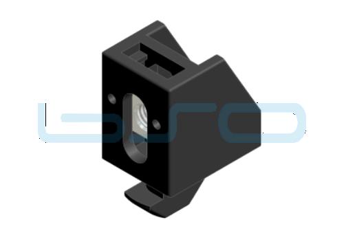 Uniblock Nut 8 Profil 30 A1=7mm mit Hammer M5
