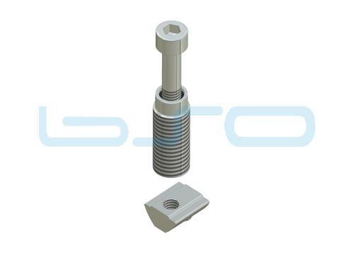 CEV-Automatikverbinder Nut 8- Raster 40 M6