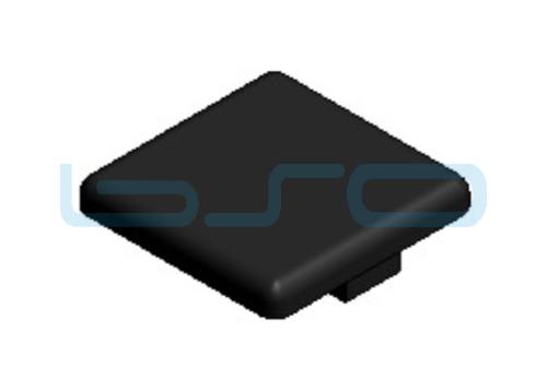 Abdeckkappe Nut 8 30x30 ESD konform