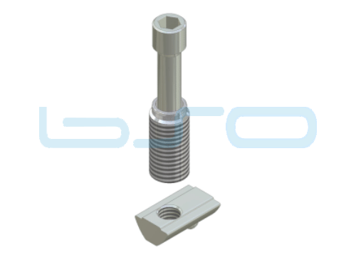 Combi-Einschraubverbinder Nut 8 Raster 40 LE