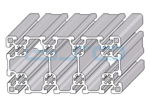 Alu-Profil Nut 10 90x180 leicht