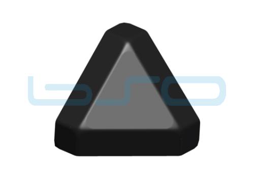 Abdeckkappe Dreieck-Eckwinkel Nut 8 30x30 3x45°