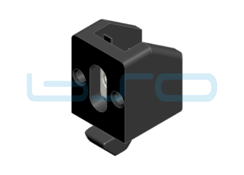 Uniblock Nut 5 A1=4mm M4