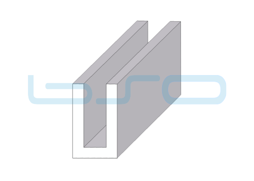 U-Profil 32x54 Alu