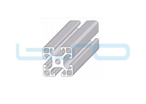 Alu-Profil Nut 8 40x40 leicht natur ESD