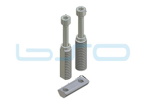 Combi-Einschraubverbinder Nut 5 doppelt potentialausgleichend