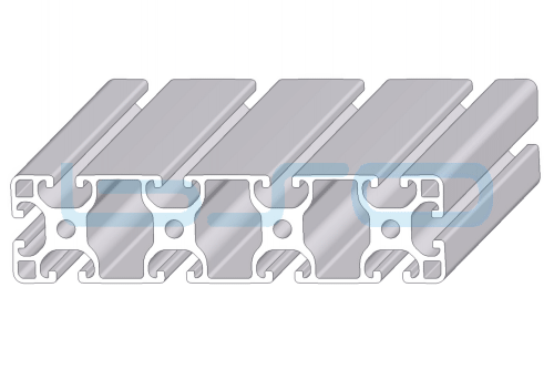 Alu-Profil Nut 8 40x160 leicht