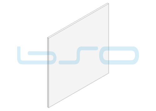 Polycarbonat Farbe klar Dicke=10mm Zuschnitt