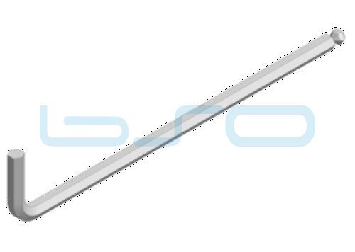 Kugelkopf-Sechskantschlüssel SW 6mm 180x32