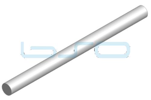 Führungswelle Stahl gehärtet D=10mm