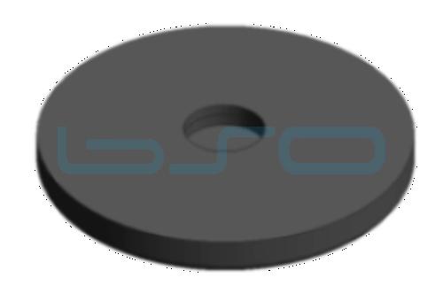 Antirutschgummi für Fuß 80mm