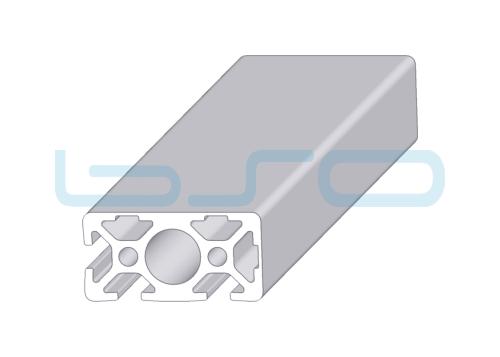 Alu-Profil Nut 5 20x40-3N