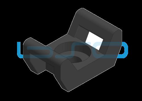 Kabelbinder-Sockel PA schwarz