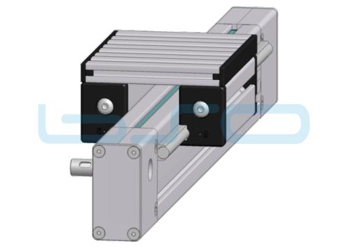 Linearsystem 40x80 komplett, mit Antrieb