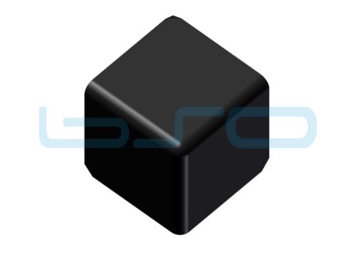 Abdeckkappe-Vierkant Eckwinkel Nut 5 20x20 3x90 Grad