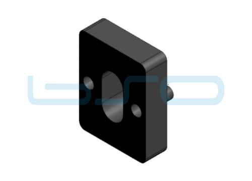 Distanzplatte für UBL 5 Dicke=4mm