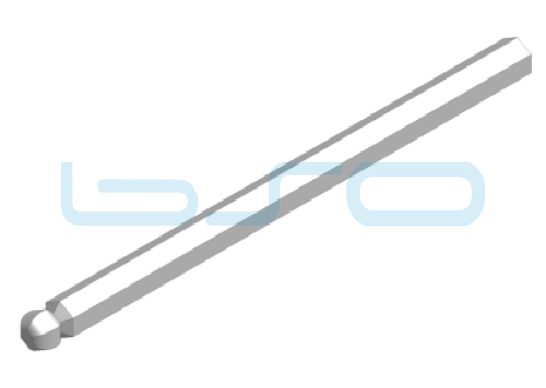 Sechskant-Bit Kugelkopf SW 6
