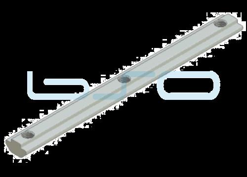 Nutenstein schwer Nut 8 Raster 40 Gewinde 3xM8 L=180mm