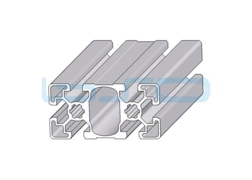 Alu-Profil Nut 10 45x90 leicht
