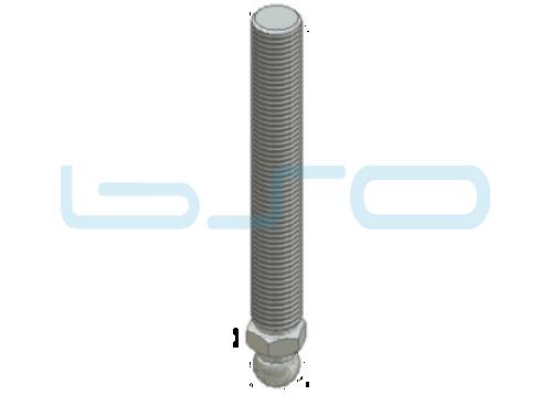Gewindestange M20x100 Stahl