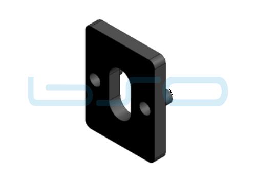 Distanzplatte für UBL 5 Dicke=2mm