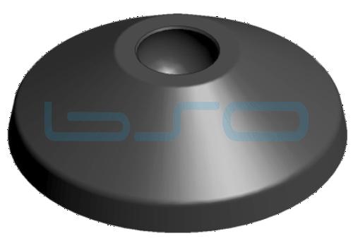 Stellfußteller PA 60mm