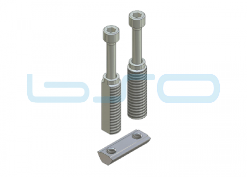 Combi-Einschraubverbinder Nut 5 doppelt