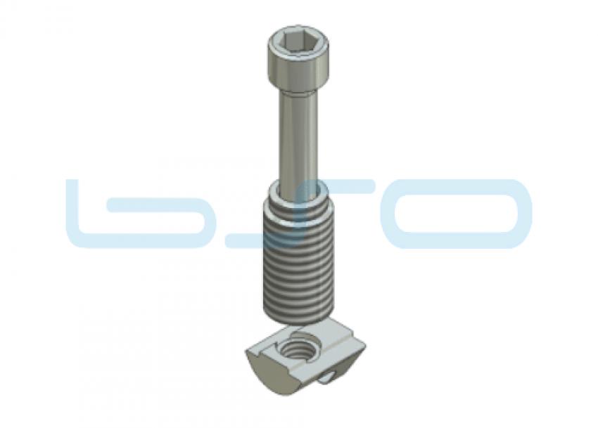 Combi-Einschraubverbinder Nut 6