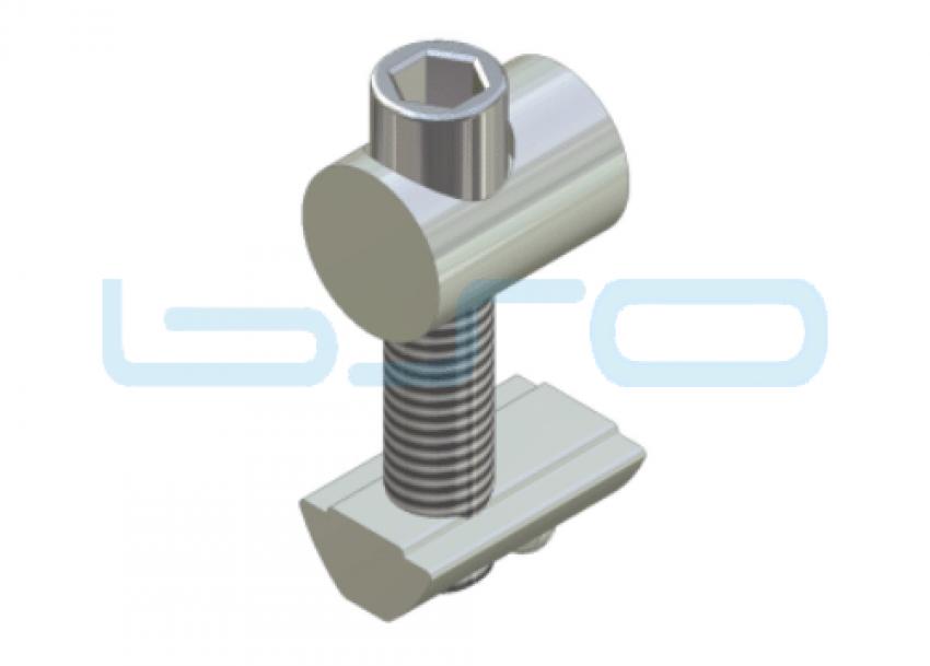 Profilverbinder einseitig beliebige Raster M8