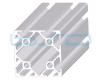 Alu-Profile Nut 8 60x60 leicht
